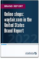 Online shops: wayfair.com in the United States 2021 Brand Report