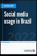 Social media usage in Brazil