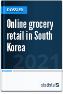 Online grocery shopping in South Korea
