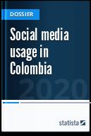 Social media usage in Colombia