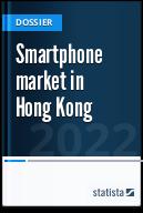 Smartphone market in Hong Kong