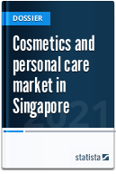Cosmetics and personal care market in Singapore