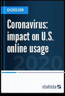 Coronavirus: impact on online usage in the U.S.