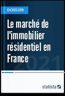 Le marché de l'immobilier résidentiel en France