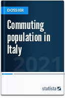 Commuting population in Italy