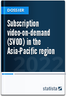 Subscription video on demand (SVoD) in Asia Pacific