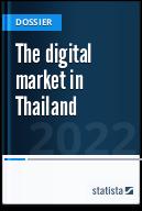 The digital market in Thailand