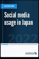 Social media usage in Japan