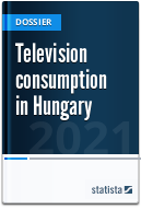 Television consumption in Hungary
