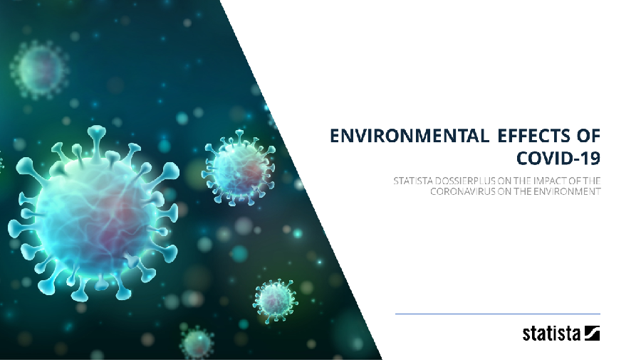 Environmental effects of COVID-19