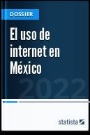 El uso de internet en México