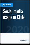 Social media usage in Chile