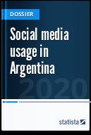 Social media usage in Argentina