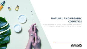 Natural and organic cosmetics market worldwide