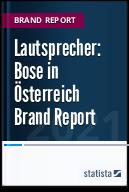 Lautsprecher: Bose in Österreich 2021 Brand Report