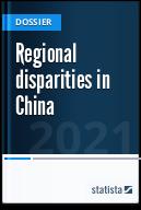 Regional disparities in China