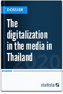 The digitalization in the media in Thailand