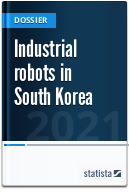 Industrial robots in South Korea
