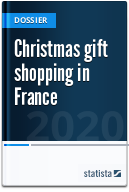 Christmas gift shopping in France