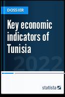 Key economic indicators of Tunisia