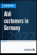 Aldi customers in Germany