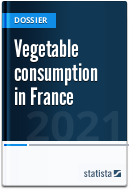 Vegetable consumption in France