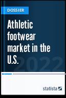 Athletic footwear market in the U.S.