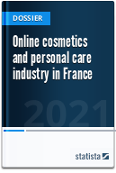 Online cosmetics and personal care industry in France