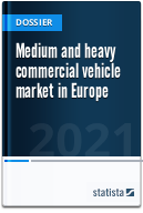 Medium and heavy commercial vehicle market in Europe