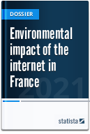 Environmental impact of the internet in France