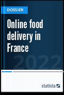 Online food delivery market in France