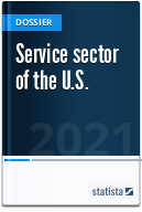 Service sector of the U.S.
