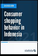 Consumer shopping behavior in Indonesia