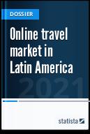 Online travel market in Latin America