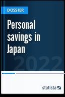 Personal savings in Japan