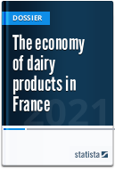 The economy of dairy products in France