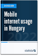 Mobile internet usage in Hungary