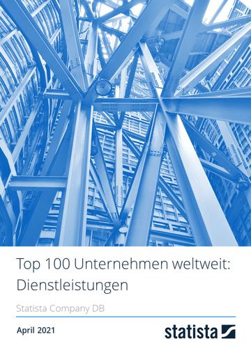 Top 100 Unternehmen weltweit: Dienstleistungen