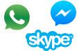 Mobile messenger apps statistics