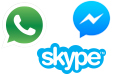 Mobile messenger apps - Statistics & Facts