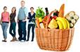 Kunden von Supermärkten, Discountern, SB-Warenhäusern Statistiken