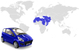 Automotive Industry in the MENA region statistics