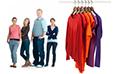 Kunden von Bekleidungsgeschäften Statistiken
