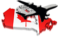 Air transportation in Canada statistics
