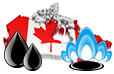 Canadian oil and gas industry statistics