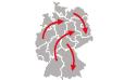 Binnenwanderung in Deutschland Statistiken