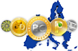 Bitcoin and digital currency in Europe statistics