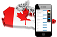 Mobile usage in Canada statistics