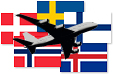 Airlines in Scandinavia statistics