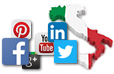 Companies and social media in Italy statistics